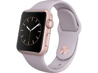 Apple Watch Rose Gold Lavender Band #Sealed New#