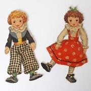Raggedy Ann and Andy Paper Dolls