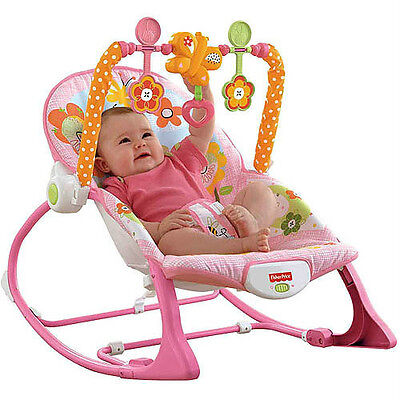 Fisher Price NEWBORN-TO-TODDLER PORTABLE ROCKER BUNNY