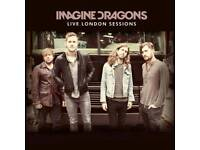 Imagine Dragons Tickets - FRONT STANDING - o2 Arena - 28th February