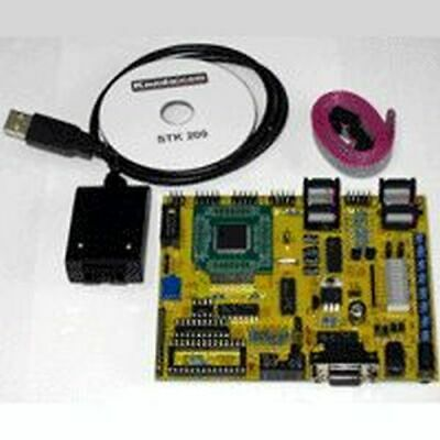 Atmel Atmega Starter Kit Stk300 With Usb Isp Programmer