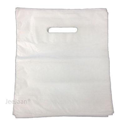 Strong Union Jack Plastic Carrier Bags Patch Handles Fashion Retail Shop