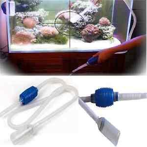 Popular aquarium clean vacuum water change gravel cleaner for Fish tank cleaning pump