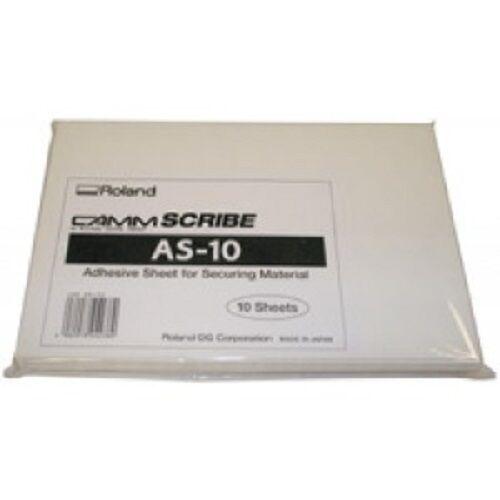 ROLAND AS-10 adhesive sheets  2 packs/20 sheets