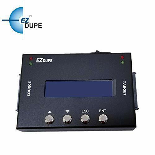 HDD SSD Duplicator 1 to 1 portable Sanitizer Eraser Cloner Copier
