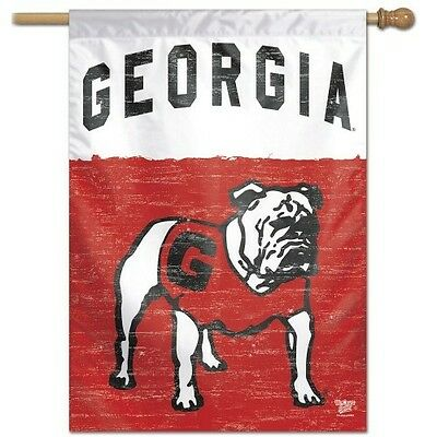 GEORGIA BULLDOGS CLASSIC COLLEGE VAULT HOUSE FLAG 28