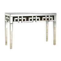 Mirrored Console Table and Matching Mirror