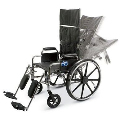 Medline Reclining Wheelchair, 22