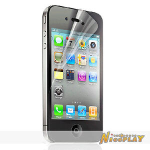 New HD Clear LCD Screen Protector Film Guard For iPhone 4 4S 8GB 16GB 32GB