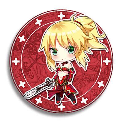 Order Metal - Fate Grand Order FGO Mordred Saber Metal Pins Badge Buttons