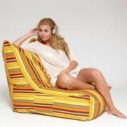 Lounge Sessel Orange