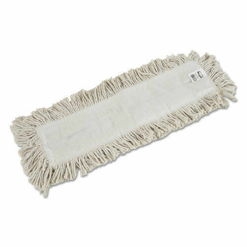 """Rubbermaid Seco Disposaduster Cotton Mop Pad Head Replacement 5"""" x 24"""" NIP"""