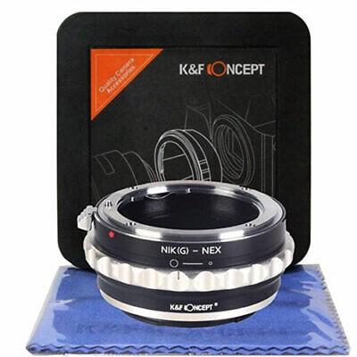 K&F Concept Nikon G A Nex a7S a7II a7SII a7RII a6500 Lente...