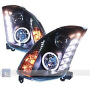 G35 Coupe Headlights