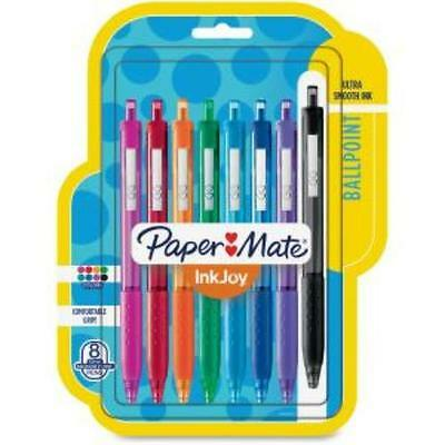Paper Mate Inkjoy 300 Rt Ballpoint Pens - 1 Mm Point Size - Assorted Ink -