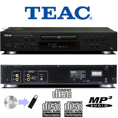TEAC CD Compact Disc & USB Recorder Player Home Audio MP3 WMA CD-R/RW CD-P650