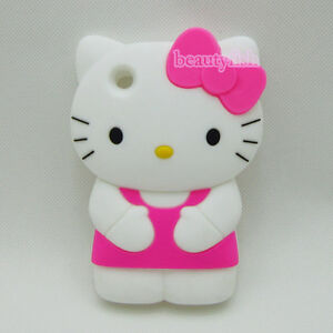 3D-Hello-Kitty-Bow-Silicone-Soft-Cover-Case-for-Apple-iPhone-3-3G-3GS-Hotpink