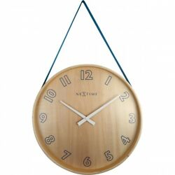 Boyle NeXtime Modern Indoor Stylish Wall Clock Loop - Blue