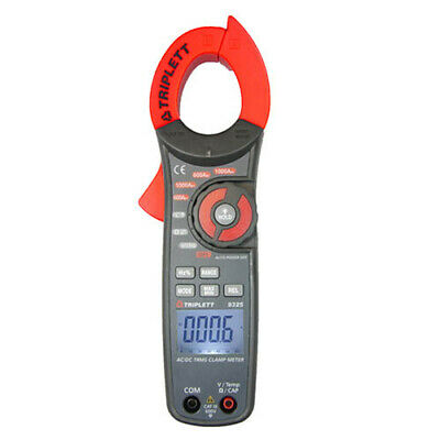 Triplett 9325 True Rms Acdc Clamp-on Meter With Temp. Capacitance Freq