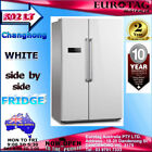 White Side-by-Side Refrigerators
