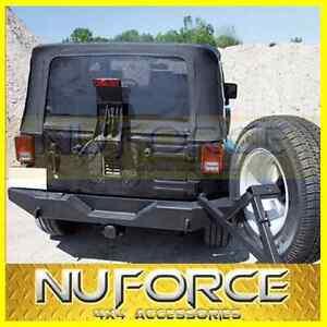 Jeep-Wrangler-JK-Series-2007-2015-Steel-Rear-Bumper-Bar-Bull-bar-Nudge-Bar