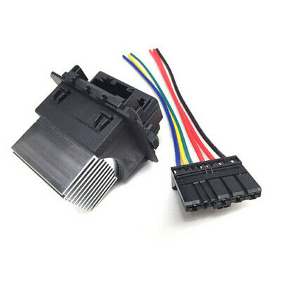 Heater Blower Resistor + Wiring Loom For Citroen C1 C3 Picasso C4 DS4 Peugeot