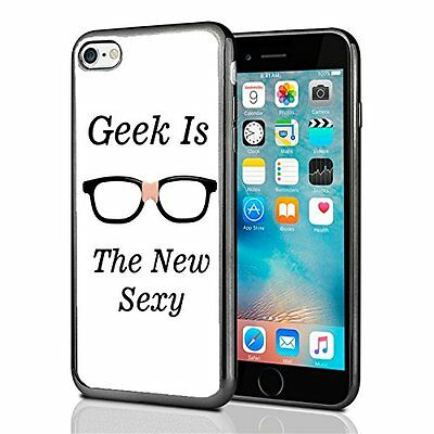 Geek Is The New Sexy For Iphone 7 (2016) & Iphone 8 (2017) Case Cover