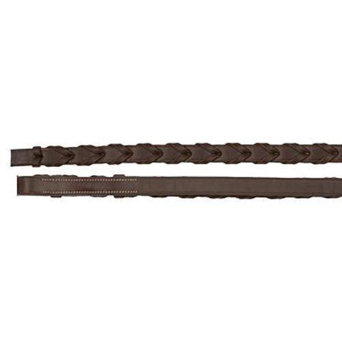 """Camelot X-Long XL Lace Reins - Brown - 66"""" - #71877 - SALE!"""