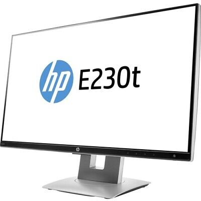 """Business E230t 23"""" LED LCD Touchscreen Monitor - 16:9 - 5 ms"""