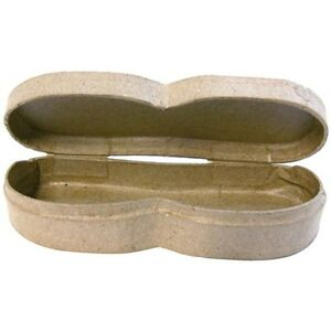 Glasses-Case-Specs-Paper-Mache-Storage-Box-Personalise-Make-Paint-Craft-Decorate