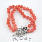 Strand/String Coral Handcrafted Bracelets