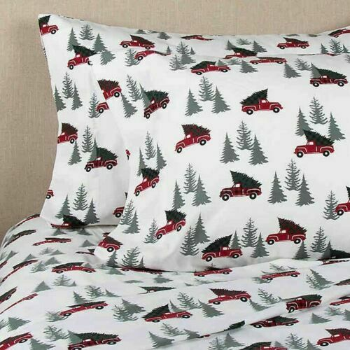 Bee & Willow Heavyweight Flannel 4 Pc FULL Size Sheet Set Ch