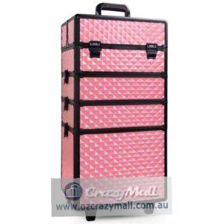 7-in-1 Lockable Make Up Trolley Case