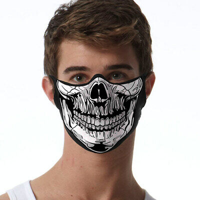 Skull FACE MASK Cover Your Face Masks