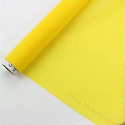3 Yards 200m Yellow Screen Printing Mesh Fabric Screen Frme Diy Material 80t