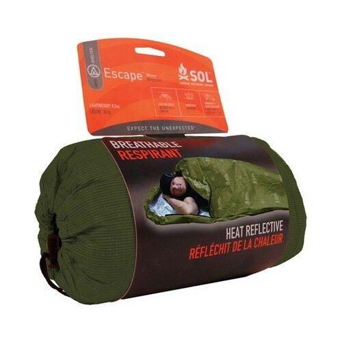 SOL OD Escape Bivvy - AMK Emergency Sleeping Bag / Liner BOB GOOD Emergency Prep