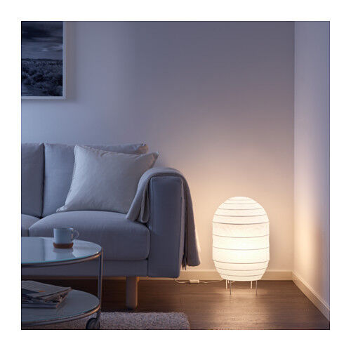 White Rice Paper Shade Modern Contemporary