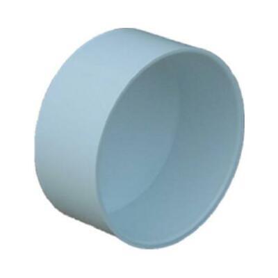 PVC Pipe Sewer & Drain Cap,  4-In.