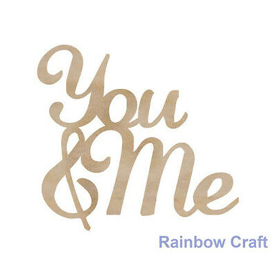 Kaisercraft Wooden Embellishments flourish Pack 18 wording / patterns U select - You & Me