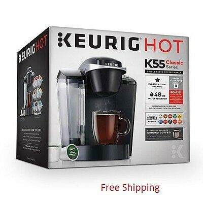 Keurig K55 Classic K-Cup Machine Coffee Maker Brewing System | BLACK | BRAND NEW