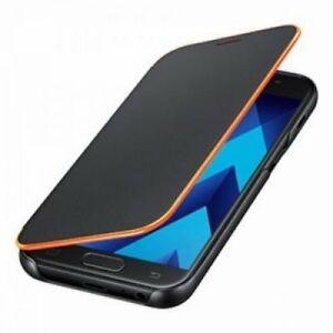 Samsung Neon Flip Cover Galaxy A5 (2017) Black.