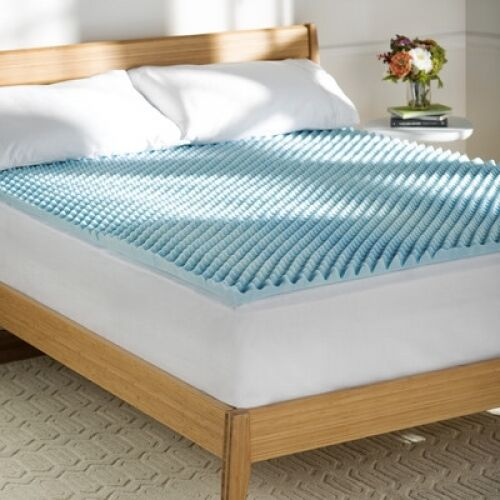 Gel Mattress Topper Queen Cooling Memory Foam Bedding