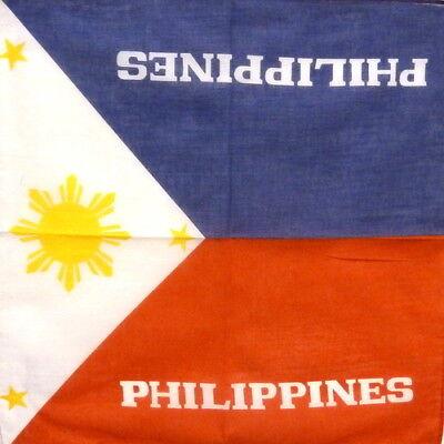 Philippines Bandana / Philippines Flag Bandana