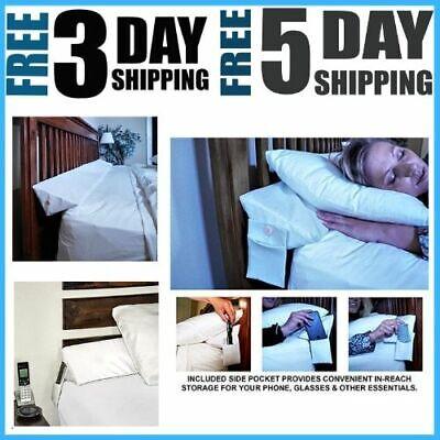 SnugStop Bed Wedge Mattress Wedge Queen Headboard Pillow ...