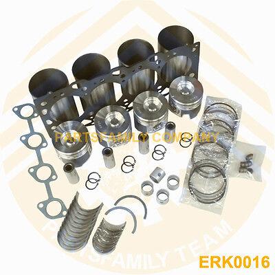 Engine Rebuilt kit+1pc Oil+1set Valve kit for Isuzu 4LE2 Diesel Engine Generator