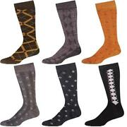 Mens Pattern Dress Socks