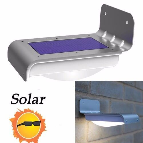 16 LED Solar Power Garden Security Lamp Outdoor Waterproof