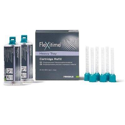 Flexitime Heavy Tray Refill - 2 X 50 Ml Cartridges Kulzer 112020