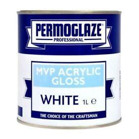 permogaze mvp acrylic white gloss 1ltr