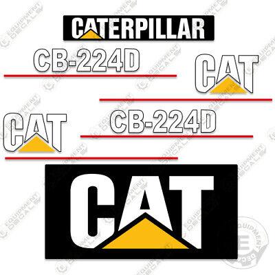 Caterpillar Cb224d Decal Kit Vibratory Smooth Drum Roller Cb 224 D Cb-224-d